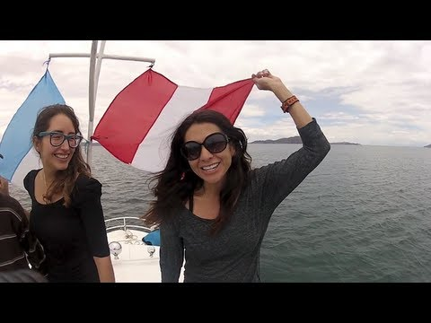 Lake Titicaca: floating Uros Island, Amantani Island & Taquile Island (Travel Videoblog 038)