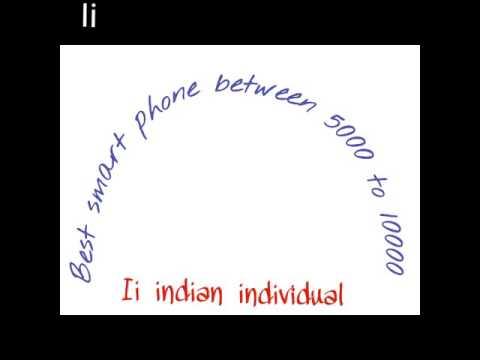 Best smart phone between 5000 to 10000 in India