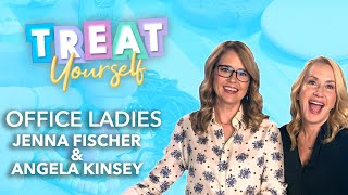 Jenna Fischer and Angela Kinsey Talk 'Office Ladies' While Decorating Cookies | Treat Yourself
