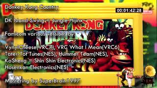 Donkey Kong Country(NES+VRC6+VRC7 mastering) - Jungle Hijinx = DK Islang Swing