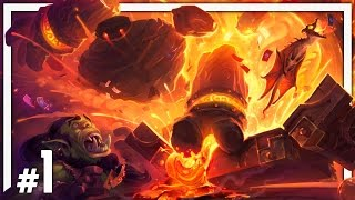 Hearthstone: One Man Raid - BRM #1 - Blackrock Depths Normal & Class Challenges