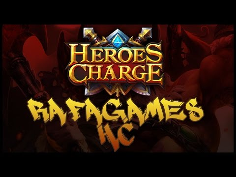 Heroes Charge - Outland Portal Lord of Caves - Level 5  3 Stars Only Lvl 89 OUTCH!