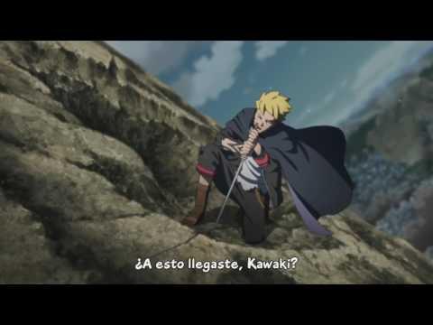 Boruto Naruto Next Generations - Boruto vs Kawaki [ Sub Español ]
