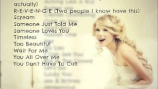 Taylor Swift Unreleased Compilation Trade 2012