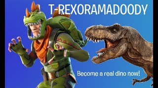 Fortnite Reanimated + Dino Skin = TREX