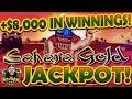 High Limit Lightning Link Sahara Gold Amazing Run with Mega Jackpot