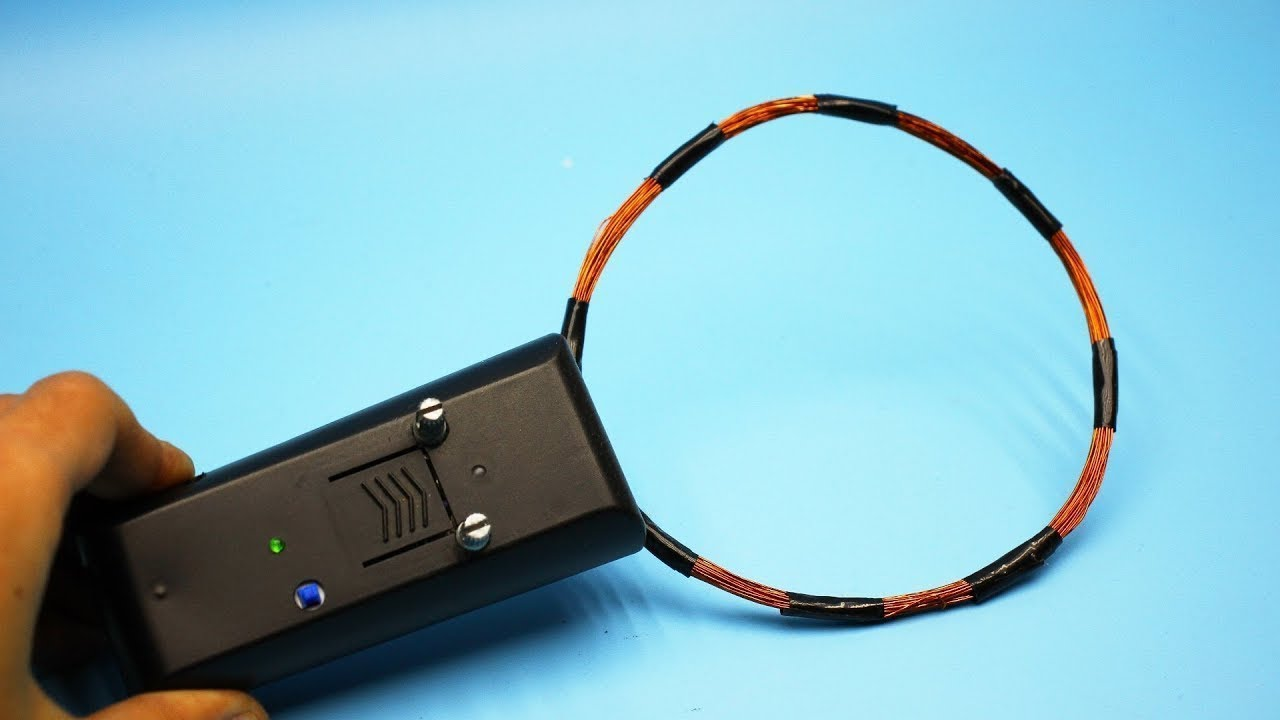 Diy Simple Metal Detector You