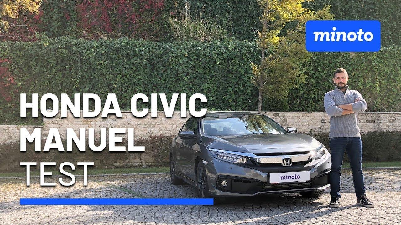 Honda Civic Hatchback düz vites test sürüşü 2020   Hem hızlı hem uygun fiyatlı   0-100 hızlanma