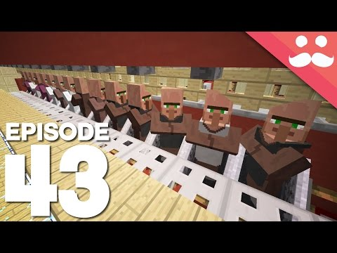 Hermitcraft 4: Episode 43 - Huge Villager Trading Station