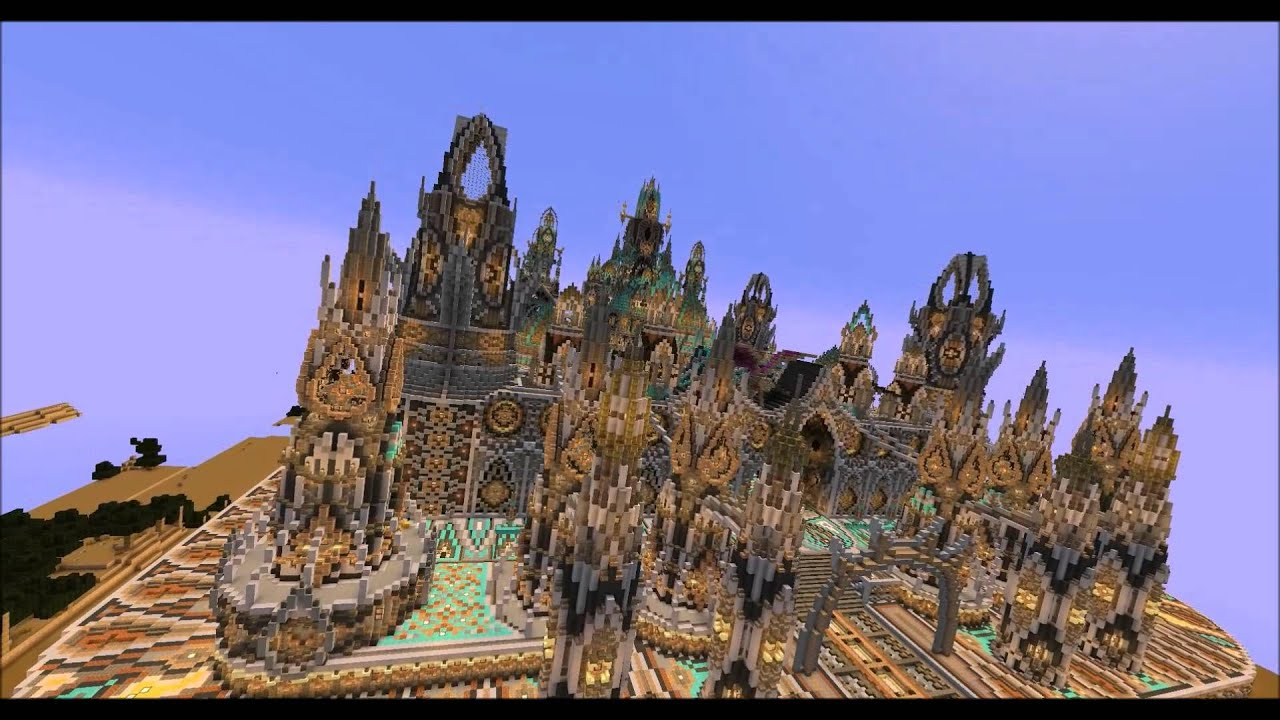 Minecraft Telios Palace With Schematic And Download Youtube