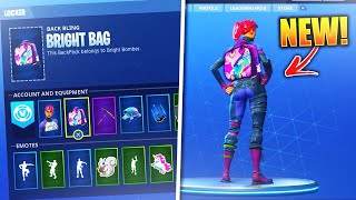 "*NEW* HOW TO GET FREE ""BRITE BAG"" IN FORTNITE BATTLE ROYALE! - BRITE BOMBER BACKPACK FOR FREE!"