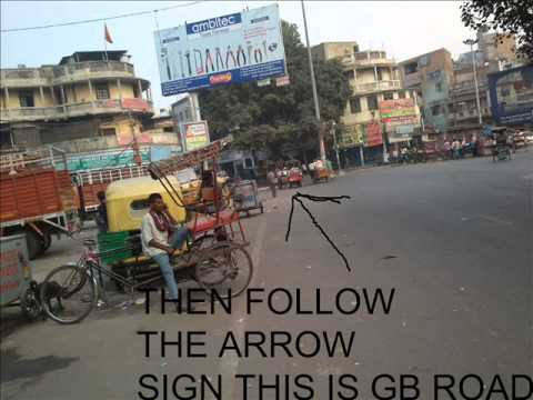 Gb Road Delhi Map G.B(new delhi) road full adress .   YouTube