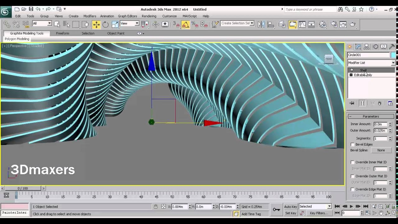 parametric modeling with 3ds max - YouTube
