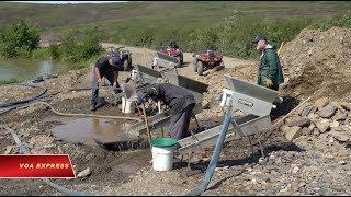 Thị trấn khai thác vàng tại Alaska (VOA)