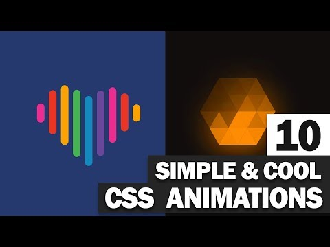 10 Simple And Cool CSS Animation You Should See
