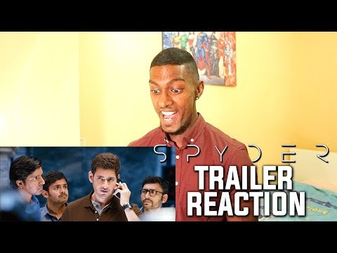 SPYDER Telugu Trailer Reaction & Review | Mahesh Babu | PESH Entertainment
