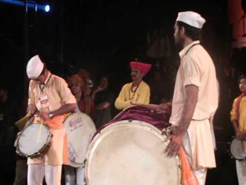 samartha pratishthan in sakal dhol tasha competion atharva