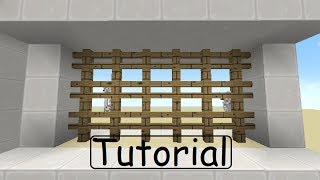 Minecraft Tutorial: Portcullis for 1.7.2 [German/HD]