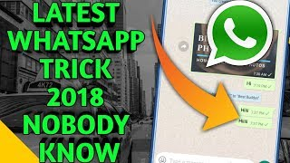 Latest Whatsapp trick 2018 best Android app Improve your habit ?