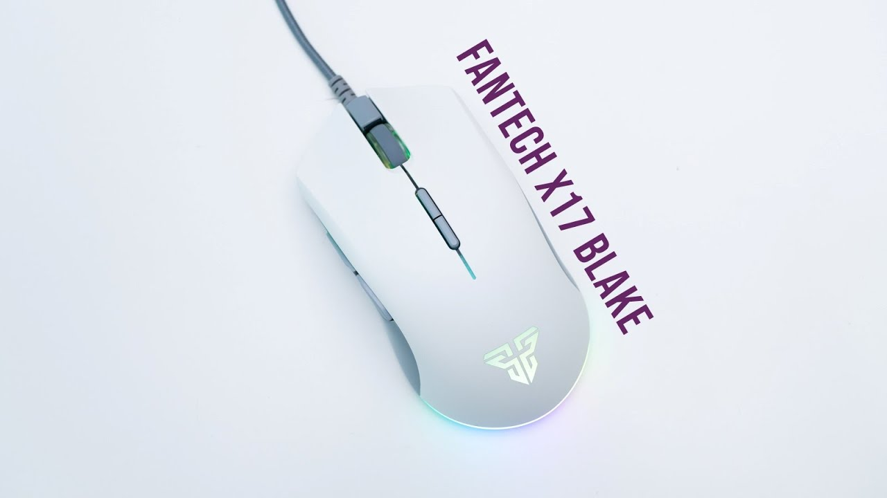 Fantech X17 Blake Review | White Space Edition Gaming Mouse