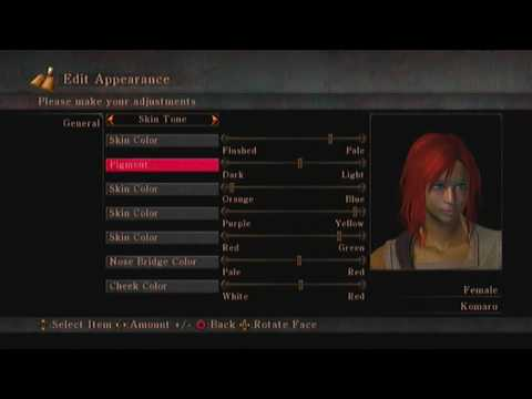 �PS3】 Demon's Souls - Character Creation