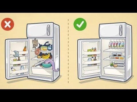 Как навести порядок в холодильнике раз и навсегда