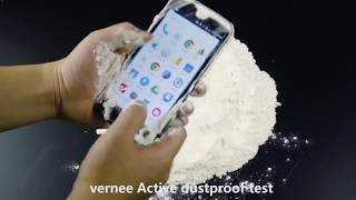 Vernee Active 4G Phablet  -  BLACK IP68 Waterproof shockproof Test and Best Price
