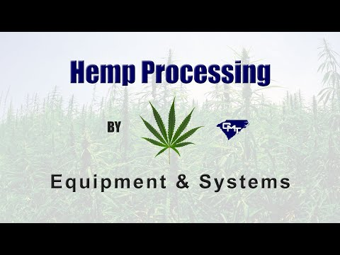 Hemp Processing Equipment - From Bulk Bag To Extractor