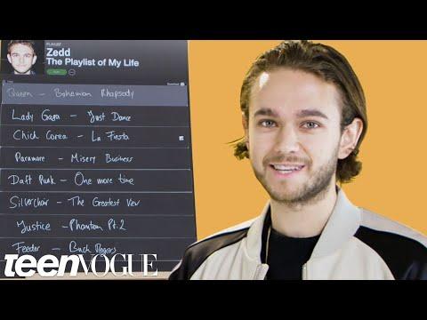 Zedd Creates The Playlist of His Life | Teen Vogue