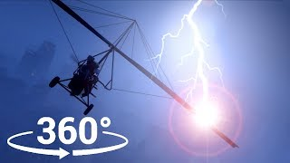 Flying In a Thunderstorm in 360° - GTA 5 VR thumbnail