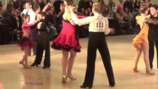 Raymond & Liza at Nyemchek Ballroom Dance competition, 11.09.2013