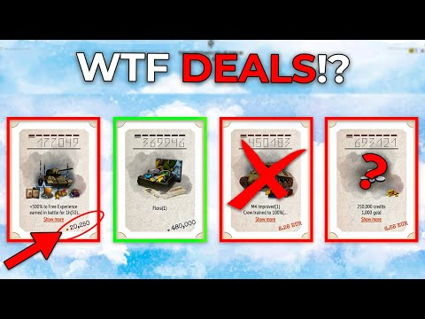 Those were supposed to be SPECIAL Offers? 🔴 World of Tanks Daily Deals Review