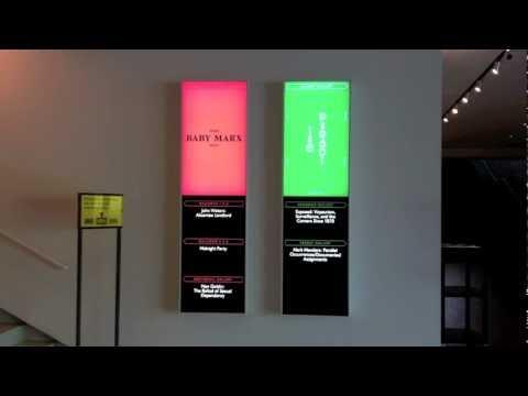 Walker Art Center: Digital Signage