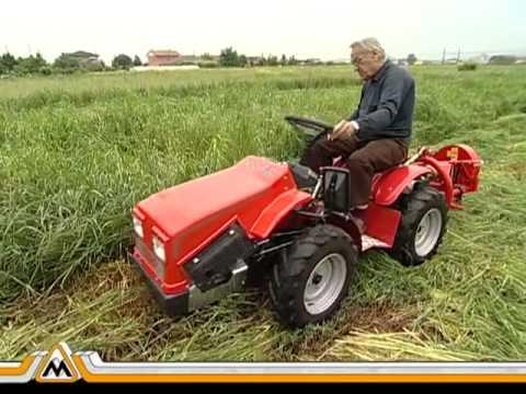 Trattorino sicil zappa david one 4 ruote doovi for Motocoltivatore mira