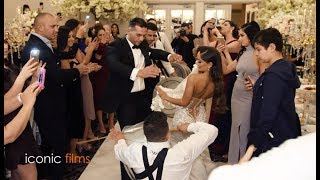 Assyrian + Lebanese mixed wedding entry!
