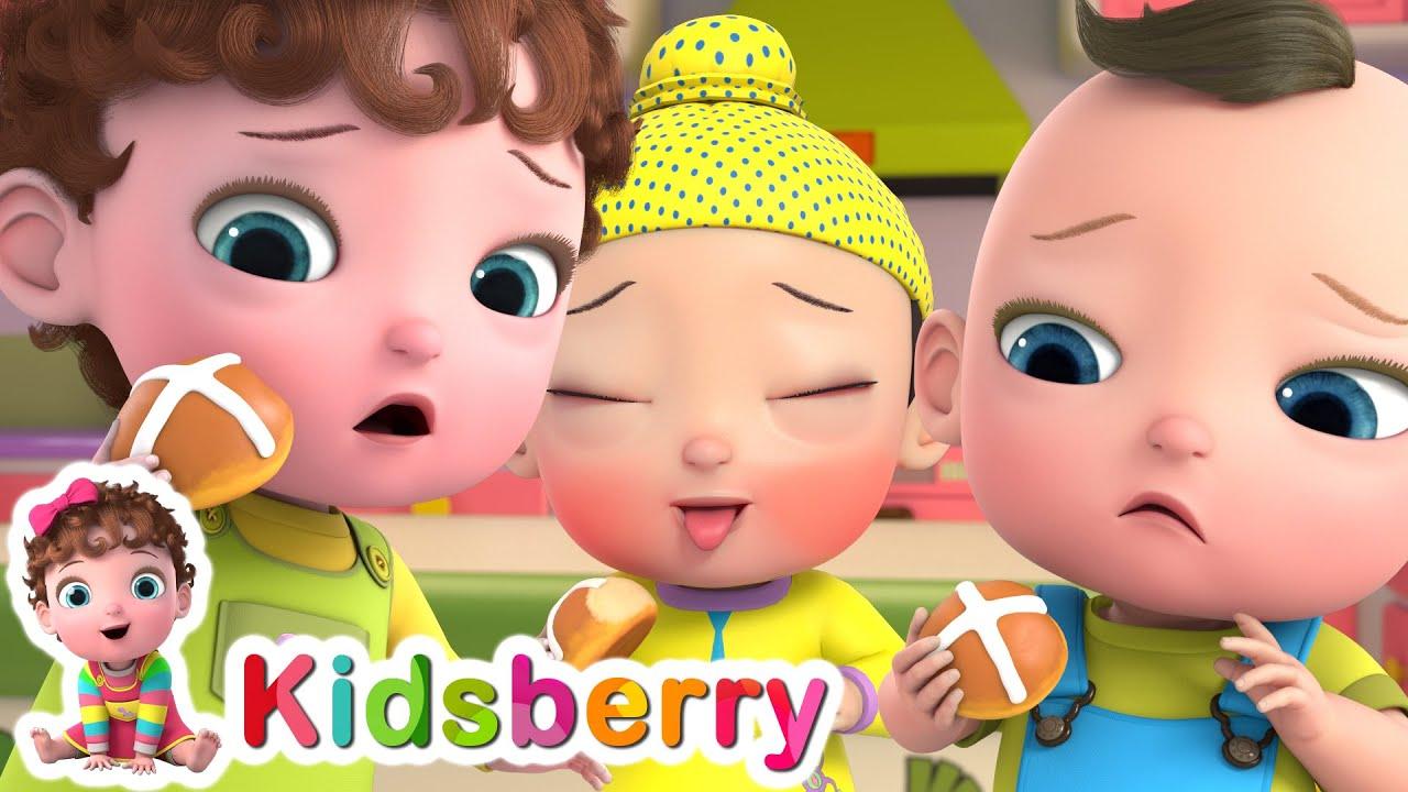 Baby Making Buns + More Nursery Rhymes | Baby Songs