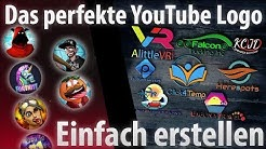 YouTube Logo erstellen KOSTENLOS | Online Tutorial - einfach, transparent, gratis [Deutsch]