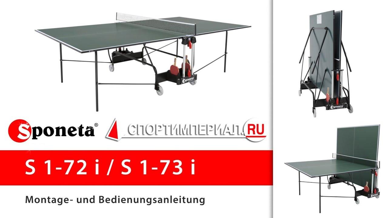 Инструкция по сборке теннисного стола