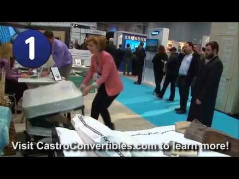 bernadette castro opens and closes the castro convertible ottoman