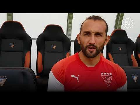 Hernán Barcos: 'Tuve ofertas de Barcelona, pero aquí solo juego en Liga'