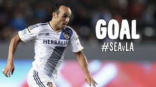 GOAL: Landon Donovan pounces on the rebound  | Seattle Sounders vs LA Galaxy