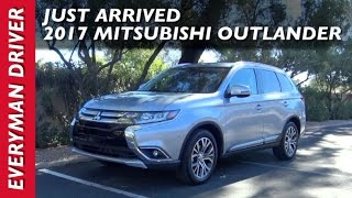 just arrived 2017 mitsubishi outlander s awc on everyman driver