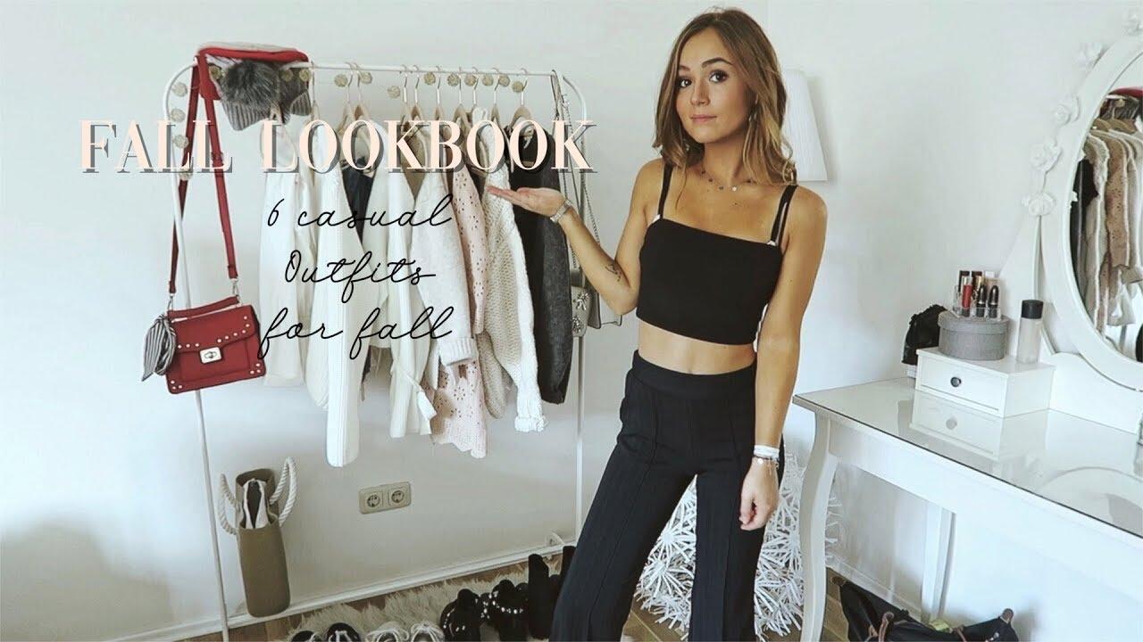[VIDEO] - FALL LOOKBOOK I 6 casual Outfits I ▹ Zaramiraa ♡ 5
