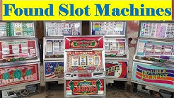 SLOT MACHINES I Bought An Abandoned Storage Unit Locker / Opening Mystery Boxes Storage Wars Auction