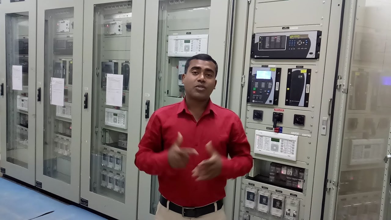 Control & Relay Protection Panel for substation-Practical Explanation[ IN  HINDI]