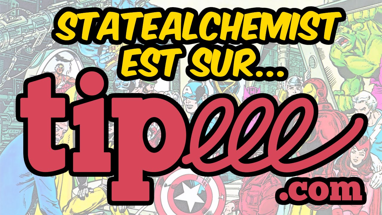 [Pub] StateAlchemist ouvre une page Tipeee !