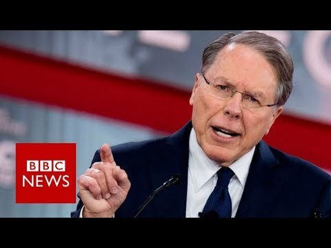 NRA head: Gun control advocates 'exploiting' Florida tragedy - BBC News