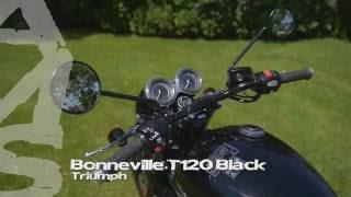 Triumph Bonneville T120 Black  - Ams Moto