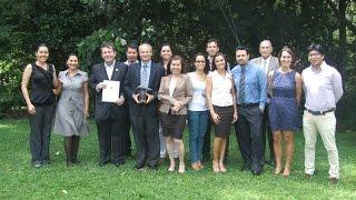 Premiación INBio 2014 a Fundación Neotrópica
