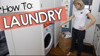 HOW TO DO YOUR LAUNDRY // Grace Helbig
